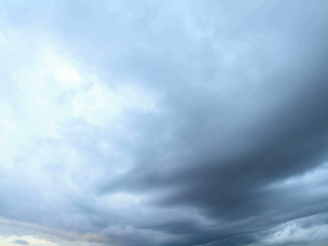 Rain clouds, rain starts. Time Lapse. 4x3 Stock Video Footage