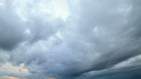 Rain clouds, rain starts Footage