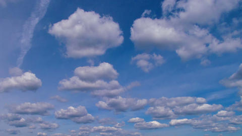 Clouds in the sky Stock Video Footage