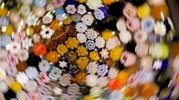 Kaleidoscope of flowers Stock Video Footage