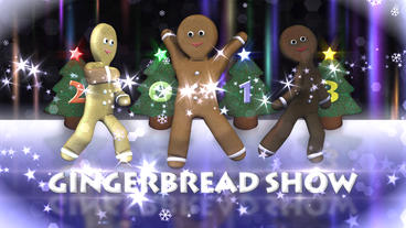 Gingerbread Show - Xmas Greetings Template After Effect