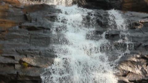 waterfall in Kerala state India Footage