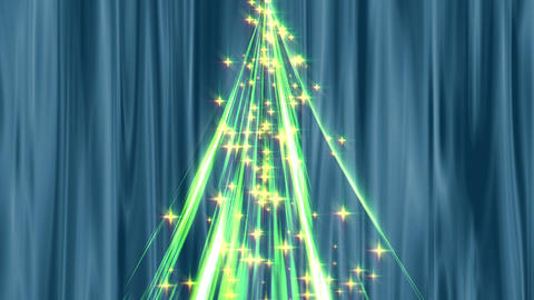 Christmas tree CG Animation