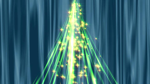 Christmas tree CG Stock Video Footage