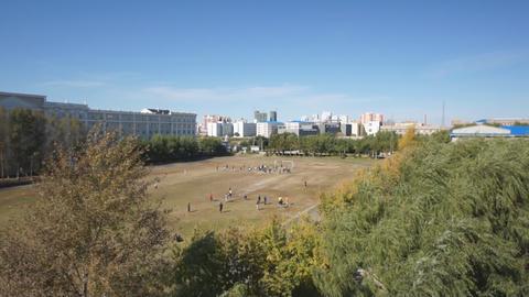 Heihexueyuan Stadium 02 Footage