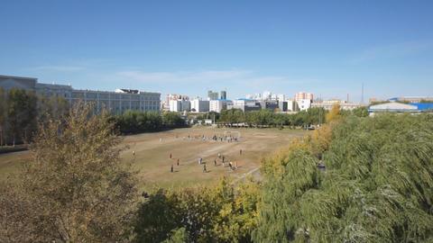 Heihexueyuan Stadium 02 Stock Video Footage
