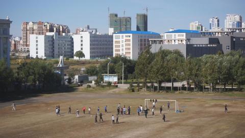 Heihexueyuan Stadium 04 Stock Video Footage