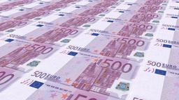 Euro money Stock Video Footage