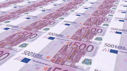Euro money Animation