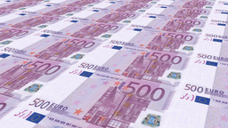 Euro money Stock Video Footage
