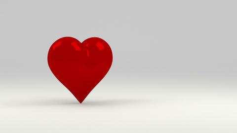 Red heart Animación