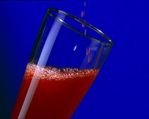 Strawberry Juice Stock Video Footage