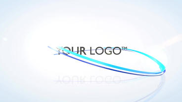 Ribbons Logo - After Effects Template After Effects Project