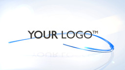 Ribbons Logo - Apple Motion and Final Cut Pro X Template Apple Motionテンプレート