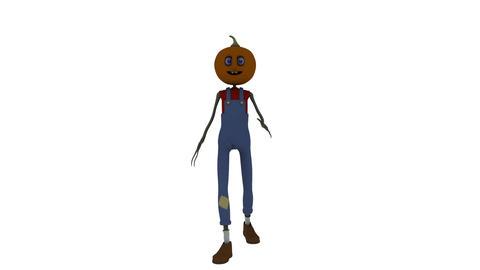 カボチャ人間 Animation