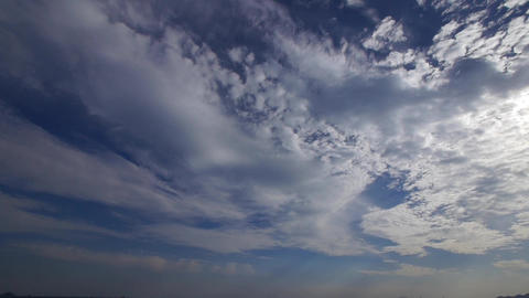 time lapse clouds Animation