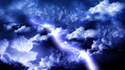 Lightning Storm Clouds Animation