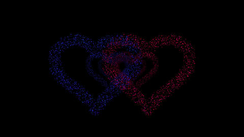 Heart Double tunnel Fa 2b HD Animation