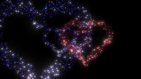Heart Double tunnel Fb 2bk HD Stock Video Footage