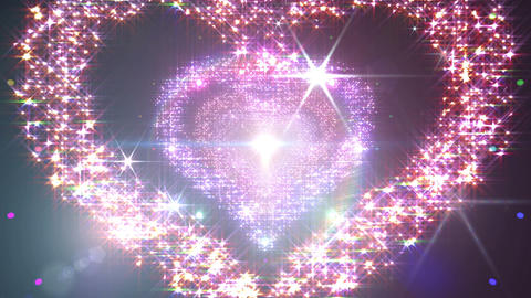 Heart Single Space Tunnel ac 5d 2 HD Animation