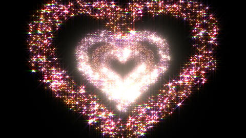 Heart Single tunnel B 2 HD Stock Video Footage