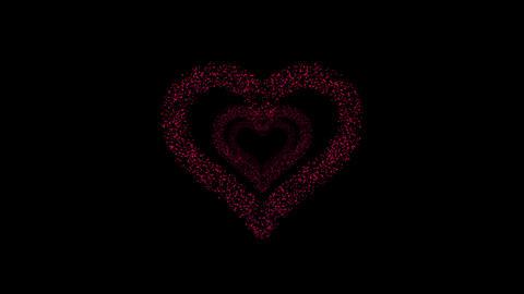 Heart Single tunnel Fa 2b HD Stock Video Footage