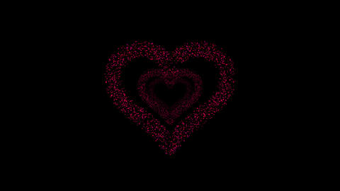 Heart Single tunnel Fa 2b HD Animation
