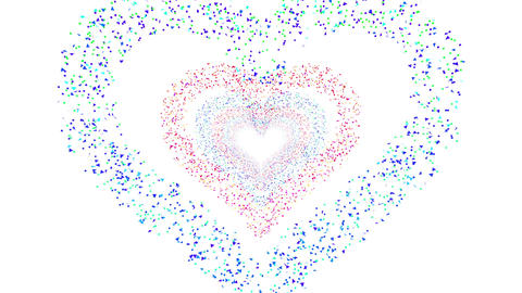 Heart Single tunnel Fb 1w HD Animation