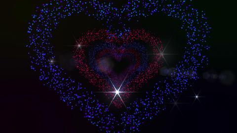 Heart Single tunnel Fb 2b F HD Stock Video Footage