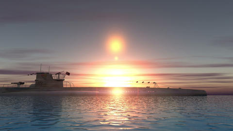 潜水艦 Stock Video Footage