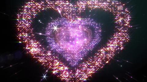 Space flash Heart Single c 3b HD CG動画