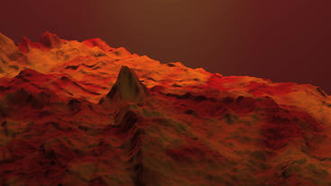 Spectacular orogeny & desert,red mountain &... Stock Video Footage