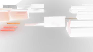Data processing,tech fiber optic beam transport in... Stock Video Footage