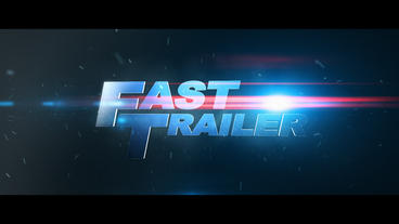 Fast Trailer After Effectsテンプレート