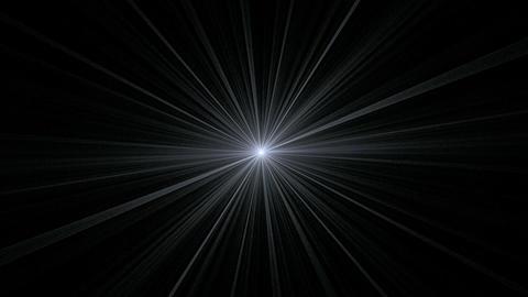 Gray Star Shining on Black Stock Video Footage