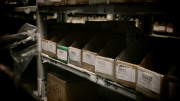 Warehouse Stock Shelving Stock Video Footage