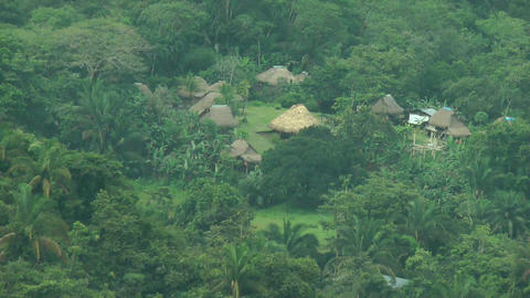 Embera Indian Traditional Village. The Embera†Footage