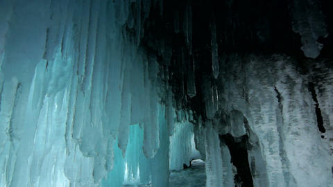 Ice cave Footage