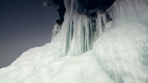 Ice Rock Footage