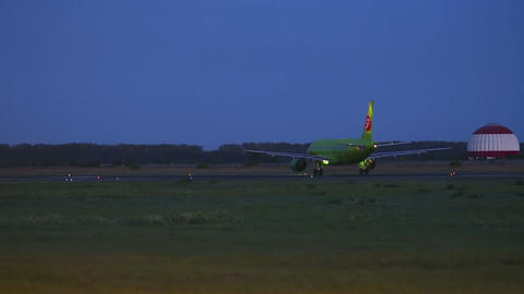 Before take-off Stock Video Footage