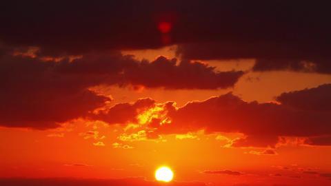 Sky, sun, clouds Stock Video Footage