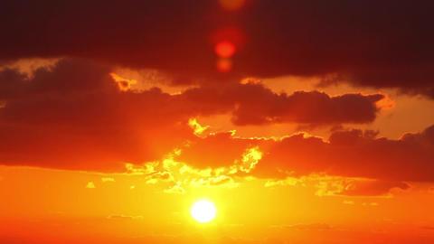 Sky, sun, clouds Footage