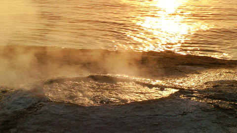 Hot Spring Stock Video Footage