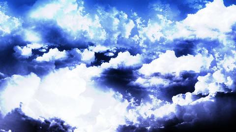 Lightning Thunderstorm on Sky Stock Video Footage