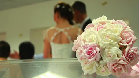 Wedding Flowers Stock Video Footage