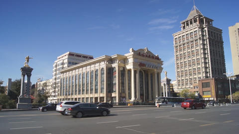 Harbin 02 Beijing Opera Theatre Stock Video Footage