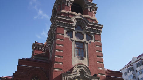 Harbin 06 St Alekseevsky church Footage