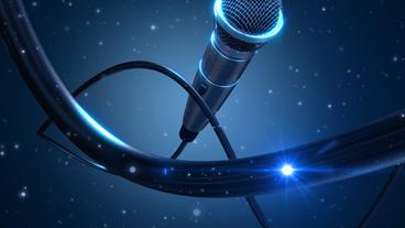 Microphone Singer Lite After Effects Template