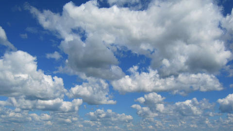 timelapse with clouds moving to you Footage