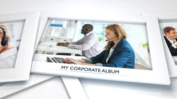 My Corporate Album - Apple Motion and Final Cut Pro X Template Apple Motion Template